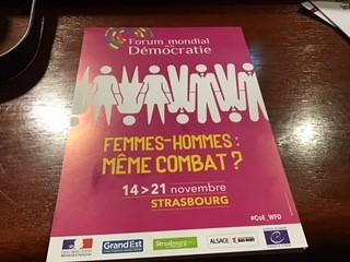 world democracy forum flyer