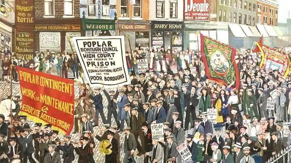 Poplar protest